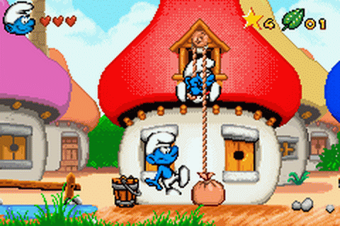 Smurfs, The - The Revenge of the Smurfs ingame screenshot