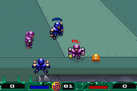 Speedball 2 - Brutal Deluxe ingame screenshot