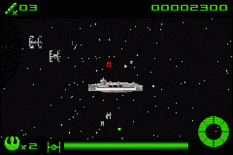 Star Wars - Flight of the Falcon ingame screenshot