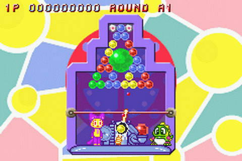 Super Bust-A-Move ingame screenshot