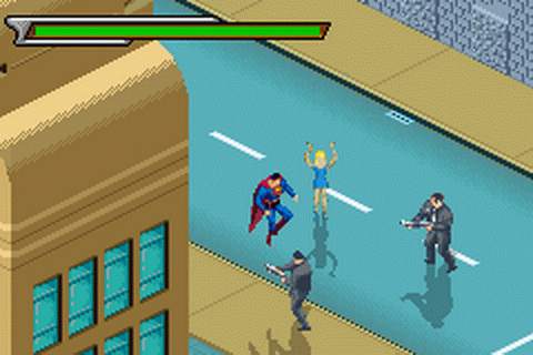 Superman - Countdown to Apokolips ingame screenshot
