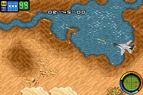 Top Gun - Combat Zones ingame screenshot
