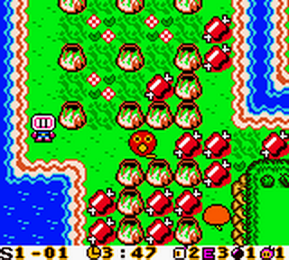 Bomberman Max - Blue Champion ingame screenshot
