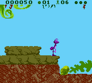 Bug's Life, A ingame screenshot