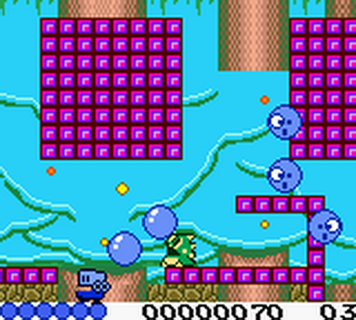 Classic Bubble Bobble ingame screenshot