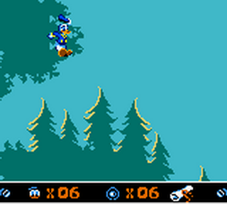 Donald Duck - Goin' Quackers ingame screenshot