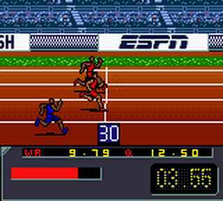 ESPN International Track & Field ingame screenshot