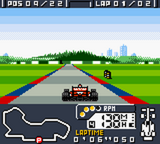 F-1 World Grand Prix ingame screenshot