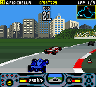 F1 Racing Championship ingame screenshot