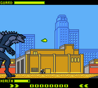 Godzilla - The Series ingame screenshot