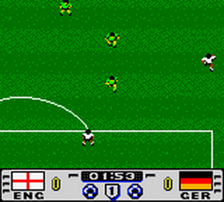Golden Goal ingame screenshot