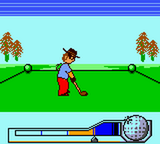 Hole In One Golf ingame screenshot
