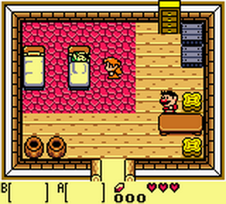 Legend of Zelda, The - Link's Awakening DX ingame screenshot