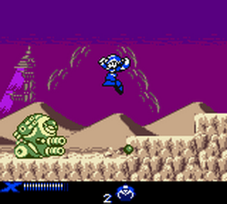 Mega Man Xtreme 2 ingame screenshot