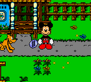 Mickey's Racing Adventure ingame screenshot