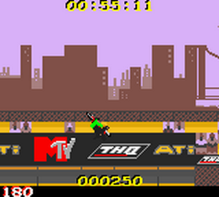 MTV Sports - T.J. Lavin's Ultimate BMX ingame screenshot