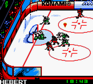 NHL Blades of Steel 2000 ingame screenshot