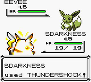 Pokemon - Yellow Version ingame screenshot
