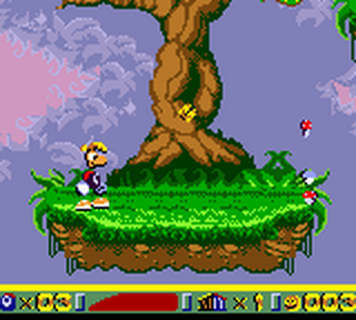 Rayman 2 - The Great Escape ingame screenshot