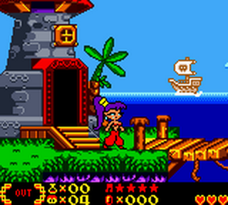 Shantae ingame screenshot