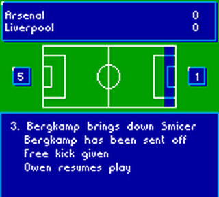 Soccer Manager ingame screenshot