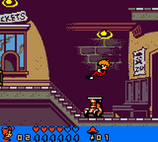 Spirou Robbedoes - The Robot Invasion ingame screenshot