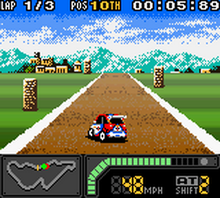 Top Gear Pocket 2 ingame screenshot