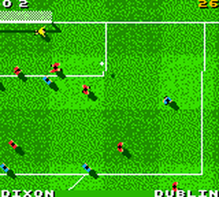 Total Soccer 2000 ingame screenshot