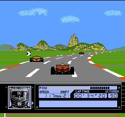 Al Unser Jr. Turbo Racing ingame screenshot