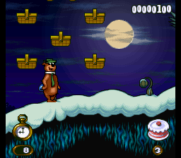 Adventures of Yogi Bear ingame screenshot