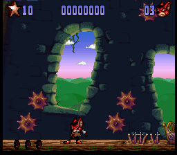 Aero the Acro-Bat 2 ingame screenshot