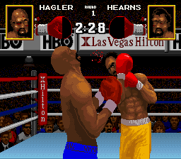 Boxing Legends of the Ring ingame screenshot