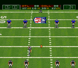Capcom's MVP Football ingame screenshot