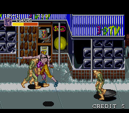 Captain Commando ingame screenshot