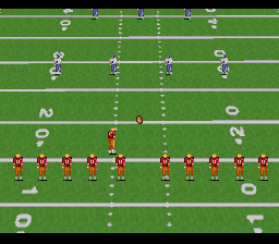 Emmitt Smith Football ingame screenshot