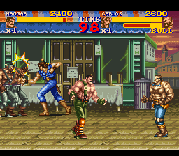Final Fight 2 ingame screenshot