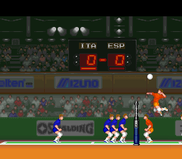 Hyper V-Ball ingame screenshot