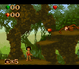 Jungle Book, The ingame screenshot