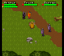 King Arthur & The Knights of Justice ingame screenshot