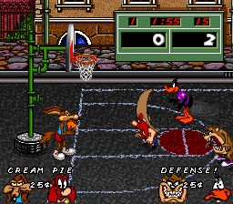 Looney Tunes B-Ball ingame screenshot