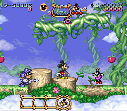 Magical Quest Starring Mickey Mouse, The ingame screenshot