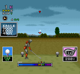 Mecarobot Golf ingame screenshot