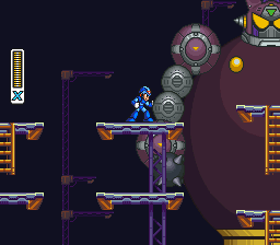 Mega Man X2 ingame screenshot
