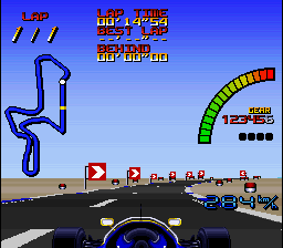 Nigel Mansell's World Championship Racing ingame screenshot