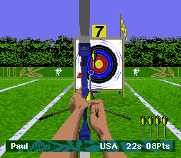 Olympic Summer Games ingame screenshot