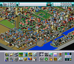SimCity 2000 ingame screenshot