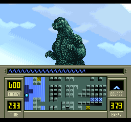 Super Godzilla ingame screenshot