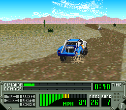 Super Off Road - The Baja ingame screenshot