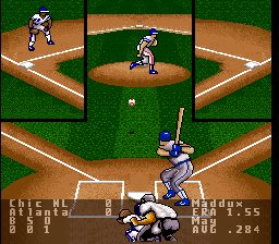 Super R.B.I. Baseball ingame screenshot