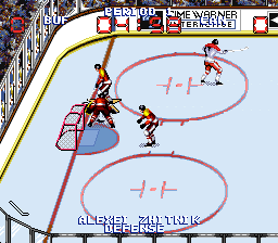 Wayne Gretzky and the NHLPA All-Stars ingame screenshot
